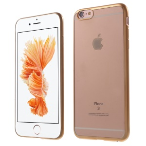 Slim Plated Edges TPU Phone Cover for iPhone 6s / 6 - Gold