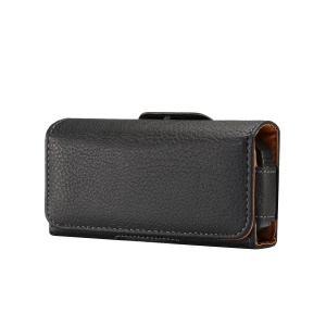 Horizontal Lychee Leather Holster Belt Clip Case for iPhone SE / Samsung S4 mini, Size: 13 x 6.6 x 3.0CM