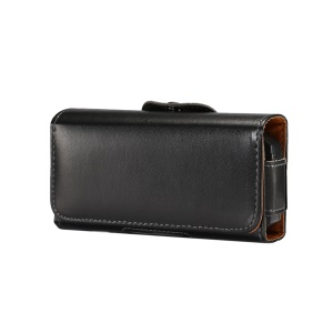Belt Clip Horizontal Smooth Leather Holster Case for iPhone SE / Nokia 215 / Gionee W909, Size: 13 x 6.6 x 2.2CM