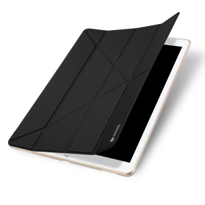 DUX DUCIS Skin Pro Origami Smart Leather Stand Case for iPad Pro 12.9 (2017) - Black