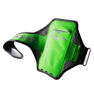 BASEUS Outdoor Sports Ultra-thin Running Jogging Armbands with Card Holder, Size: 146 x 72mm - Green