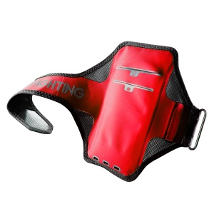 BASEUS Card Holder Ultra-thin Outdoor Sports Armbands, Size: 146 x 72mm - Red