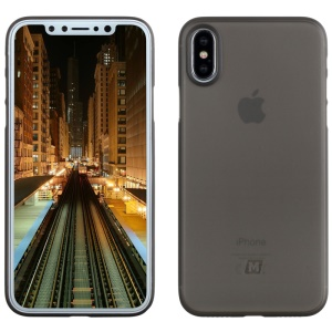 MOMAX 0.4mm Ultra-Thin PP Protector Phone Case for iPhone X 5.8 inch - Grey