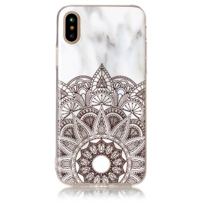 Marble Pattern IMD TPU Cell Phone Case Accessory for iPhone X/10 5.8 inch - Dream Catcher
