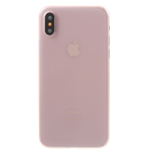 Ultra Thin PC Hard Casing Case foriPhone X/XS 5.8 inch - Pink