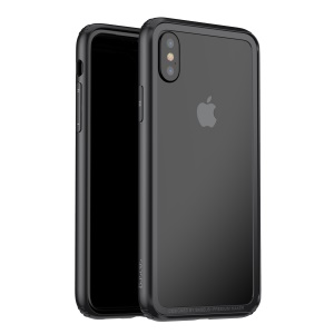 BASEUS Plastic + TPU Bumper Case for iPhone X 5.8 inch - Black