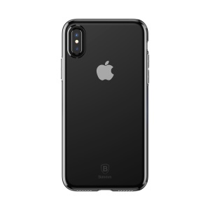 BASEUS Simple Series Clear TPU Gel Case for iPhone X/10 5.8 inch - Transparent