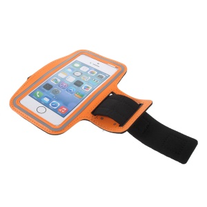 5,5-Zoll-Fitness-Studio Jogging Sport Armbinde Handytasche Für IPhone 8 Plus / 7 Plus / 6s Plus / 6 Plus 5,5 Zoll - Orange