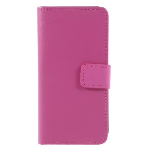 PU Leather Card Slots Stand Cell Phone Shell for iPhone 8 / 7 4.7 inch - Rose