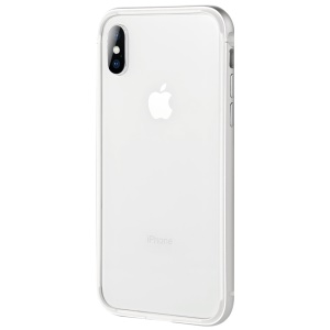 BENKS TPU + Metal Hybrid Bumper Case for iPhone X/10 5.8 inch - Silver