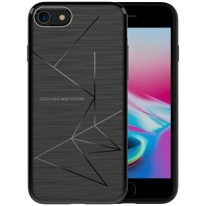 NILLKIN Magic Case for iPhone 8 Soft TPU Qi Wireless Charging Receiver TPU Back Case - Black