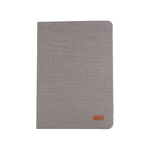 KAKUSIGA Luoxi Series Cloth Texture Leather Case for iPad 9.7 (2018)/9.7 (2017)/Pro 9.7 inch/Air 2/Air - Grey