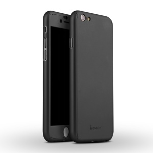 IPAKY Full Protection Case for iPhone 6 4.7 Hard PC Cover - Black