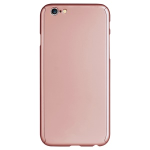 IPAKY Full Protection Case Hard Shell Cover for iPhone 6 - Rose Gold