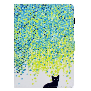 Colorful Spots and Cat