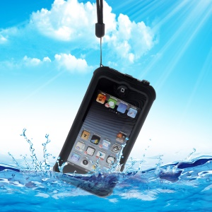 REDPEPPER Waterproof Dive Case for iPod Touch 6 with Kickstand - Black