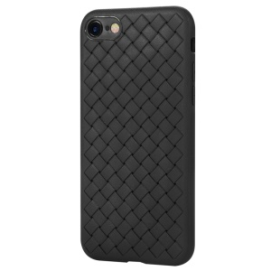 BENKS Woven Pattern Heat Dissipation TPU Case for iPhone 8 / 7 4.7 inch - Black