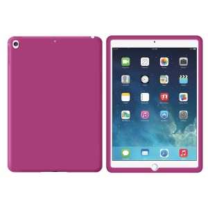 Full Protection Soft Silicone Cover for iPad 9.7-inch (2017) - Rose