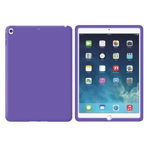 Full Protection Soft Silicone Accessory Shell for iPad 9.7-inch (2017) - Purple