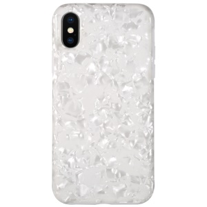 BENKS Starry Sky Series IML Soft TPU Phone Case for iPhone XS / X 5.8 inch - White