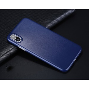 X-LEVEL Matte Hard Shell Cover Case for iPhone X - Blue
