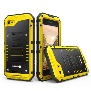 IP68 Waterproof Diving Shell for iPhone SE/5s/5 Drop-proof Dust-proof Snowproof - Yellow