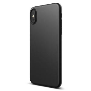 NXE Matte TPU Mobile Phone Protective Back Case for iPhone XS / X 5.8 inch - Black