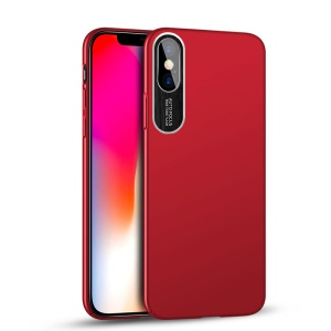 NXE Simple Series Ultra Thin PC Back Phone Cover for iPhone X/10 5.8 inch - Red