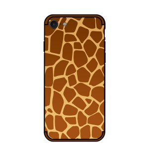 NXE Embossment Pattern TPU Back Phone Case for iPhone SE 2nd Gen (2020)/8/7 4.7-inch - Giraffe Pattern