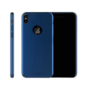 MOFI Shield Slim Frosted Hard Plastic Shell for iPhone X - Blue