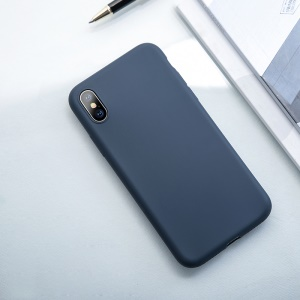 USAMS Serie Sanze Per Iphone X 0.8mm Cassa In Silicone Per PC - Blu