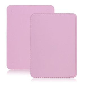 Simple PU Leather Notebook Sleeve Case for MacBook 12-inch with Retina Display(2015) , Size: 29.5 x 21.2 cm - Pink