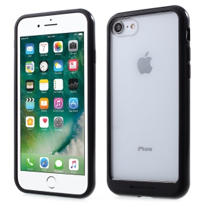 MERCURY GOOSPERY Destacável Acrílico Tampa Do Telefone TPU PC Para Iphone 8/7 4,7 Polegadas - Preto