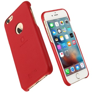 LENUO Music Case II Leather Coated PC Hard Shell for iPhone 6s 6 4.7 inch - Red