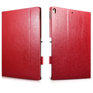 XOOMZ Knight Serie Crazy Horse PU-Leder Smart Cover Für Ipad Pro 12.9(2018)/pro 12.9(2017) - Rot