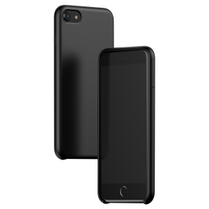 BASEUS Silky Feel Liquid Silicone Protective Case for iPhone 8 / 7 - Black