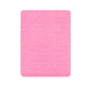 DEVIA Tri-fold Stand Tablet Case for iPad 9.7-inch (2018)/(2017) with Pen Slot - Pink