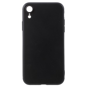 Ultra-thin Soft TPU Back Phone Case for iPhone XR 6.1 inch - Black