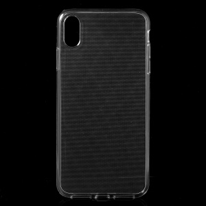 Clear Soft TPU Gel Cover with Non-slip Inner for iPhone XS Max 6.5 inch