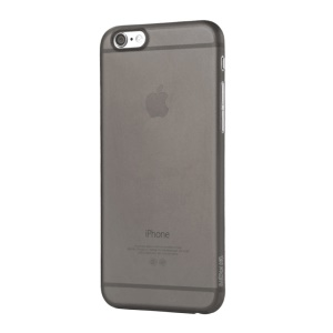 XINCUCO Light Translucent TPU Gel Case for iPhone 6s 6 - Black
