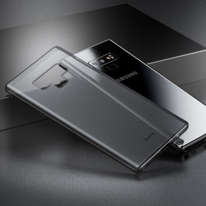 BASEUS Ultra Thin Matte PP Shell Case for Samsung Galaxy Note 9 - Translucent Black