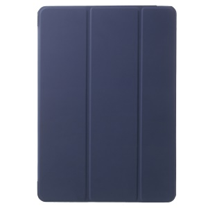 PU Leather Tablet Case with Tri-fold Stand for iPad Air 2 - Dark Blue