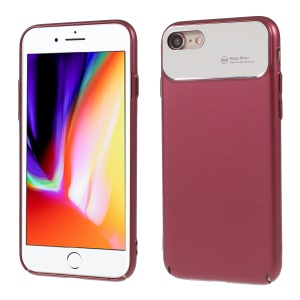 ROAR KOREA Echo Ultra-air Mirror PC Back Phone Casing for iPhone 8 / 7 4.7 inch - Wine Red