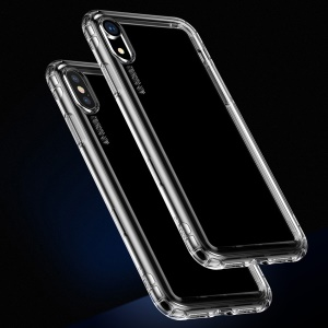 Baseus Safety Airbags Soft TPU Cover Case for iPhone XS / X 5.8 inch - Transparent