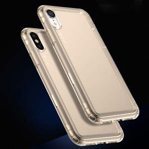 Baseus Safety Airbags TPU Protection Cover for iPhone XS / X 5.8 inch - Transparent gold