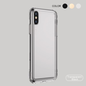 Baseus Safety Airbags TPU Protection Case for iPhone XS Max 6.5 inch - Transparent Black