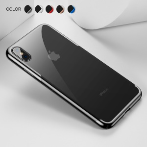 BASEUS Glitter Series Electroplated Hard Case for iPhone XS Max 6.5 inch - Black