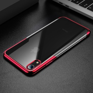 BASEUS Shining Series Plated TPU Cell Phone Case for iPhone XR 6.1 inch - Red