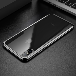 BASEUS Shining Series Plated TPU Case for iPhone XS Max 6.5 inch - Black