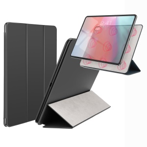 BASEUS Simplism Tri-fold Stand Magnetic Attraction Leather Case for iPad Pro 11-inch (2018) - Black